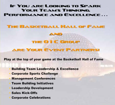 O I C Hoophall provides your company with tools for peak performance